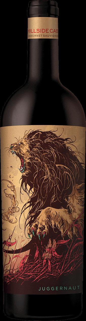 Juggernaut Hillside Cabernet Sauvignon Bottle'